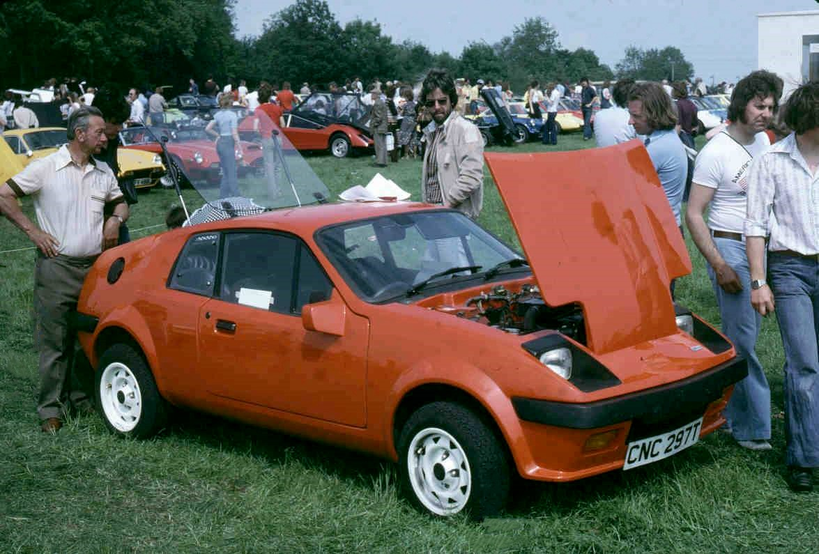 Mini Midas at 1979 Marcos International Rally that included 3rd National Kit Car Rally
