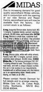 Midas-sales-advert-XP781-CNC-297T